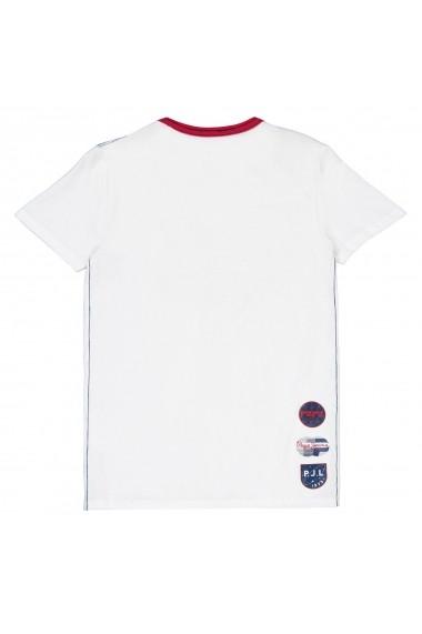 Tricou PEPE JEANS GGX961 alb