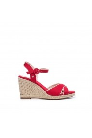 Sandale cu platforma PEPE JEANS GGM818 rosu