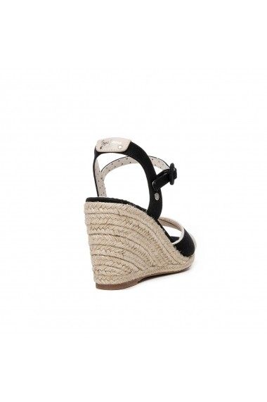 Sandale cu platforma PEPE JEANS GGM820 negru
