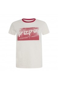 Tricou PEPE JEANS GGT878 alb