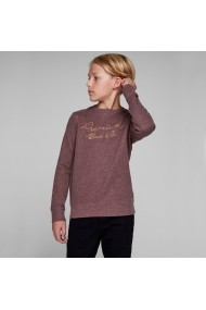 Bluza JACK & JONES JUNIOR GGI859 bordo