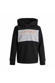 Hanorac JACK & JONES JUNIOR GGY911 negru - els