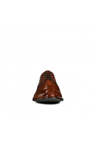 Pantofi derby GEOX GGI979 maro