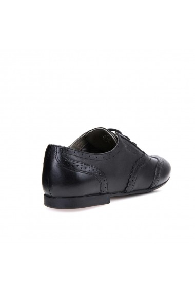 Pantofi brogues GEOX GGY306 negru