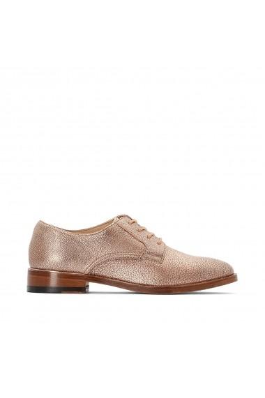 Pantofi derby CLARKS GFK754 auriu