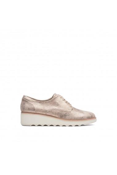 Pantofi derby CLARKS GGD382 bronz