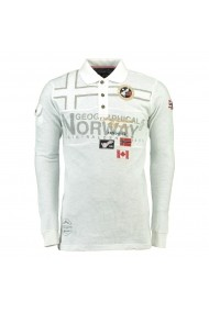 Bluza GEOGRAPHICAL NORWAY GGU214 alb