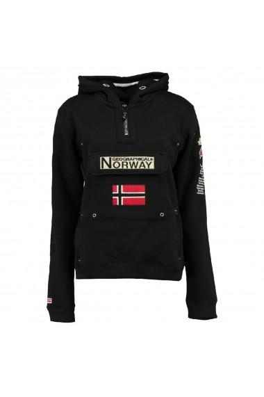 Hanorac GEOGRAPHICAL NORWAY GGU204 negru