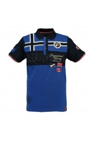 Tricou Polo GEOGRAPHICAL NORWAY GGP107 albastru