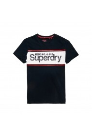 Tricou SUPERDRY GGX750 bleumarin
