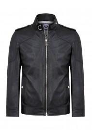 Jacheta din piele Sir Raymond Tailor SI7255286 Negru