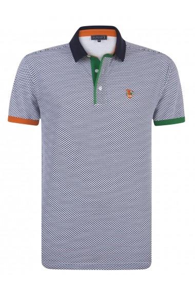 Tricou Polo Sir Raymond Tailor MAS-SI3578992 Alb