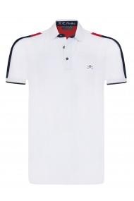 Tricou Polo Sir Raymond Tailor SI5641358 Alb - els