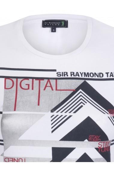 Tricou Sir Raymond Tailor MAS-SI4690396 Alb