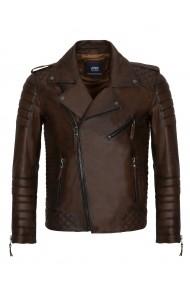 Jacheta din piele Paul Parker PA278682 Maro