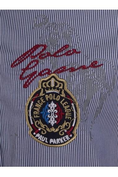 Camasa Paul Parker MAS-Pa6943768-NAVY STRIPE Bleumarin - els