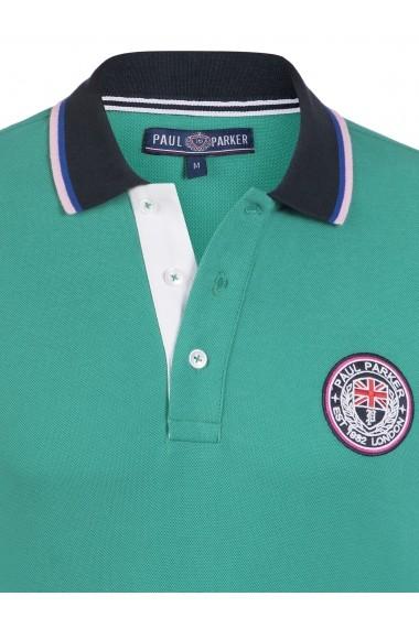 Tricou Polo Paul Parker MAS-Pa9072162-GREEN Verde