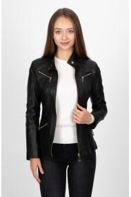Jacheta din piele PAUL PARKER Pa9703945 Neagra