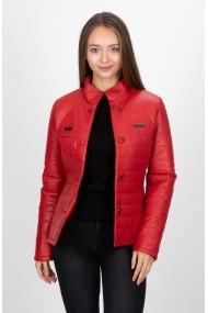 Jacheta din piele Paul Parker PA3877139 Rosu