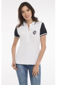 Tricou Polo PAUL PARKER MAS-Pa8890725-WHITE Alb