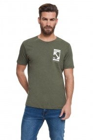 Tricou CROSSHATCH CH2A112108AA2STK-1 Verde - els
