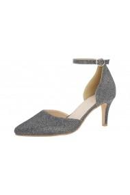Pantofi cu toc Andrea Conti 92900018 Argintiu