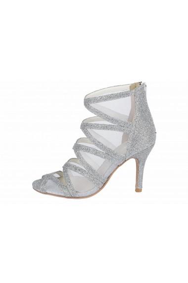 Sandale cu toc Andrea Conti 88700229 argintiu