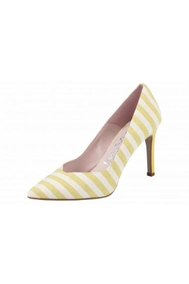 Pantofi cu toc cu toc XYXYX 31288615 alb - els