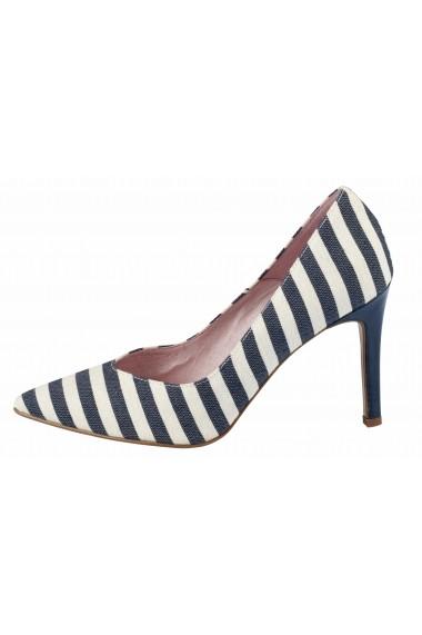 Pantofi cu toc cu toc XYXYX 77240342 alb - els