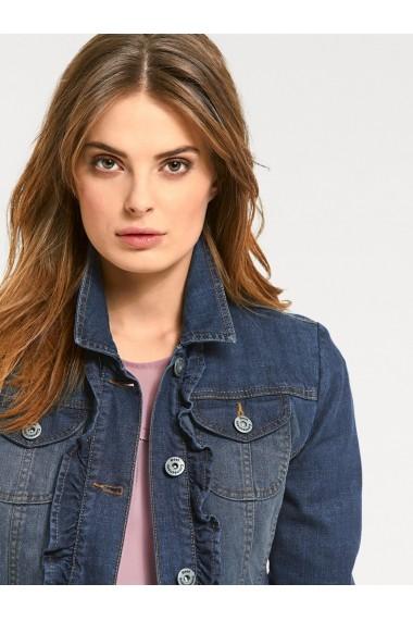Jacheta din denim heine CASUAL 002991 albastru