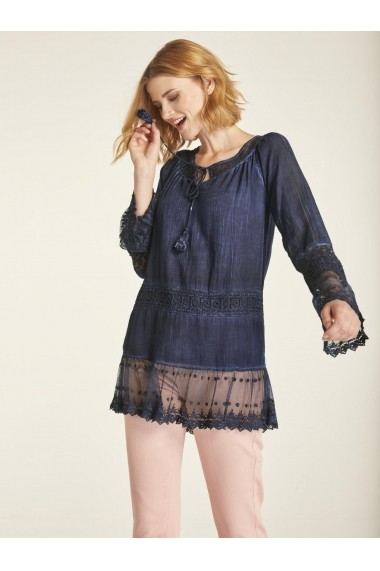 Bluza heine CASUAL 54391816 Bleumarin