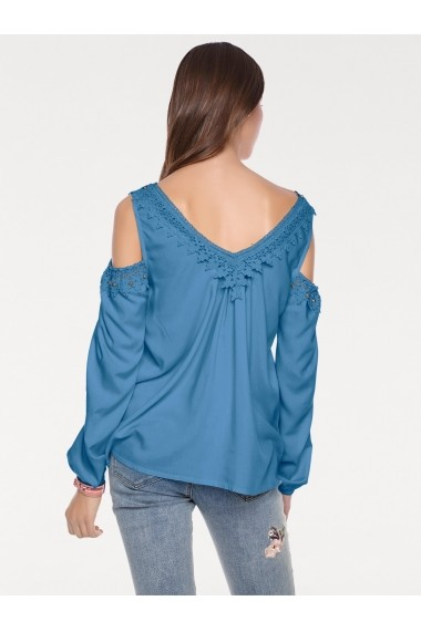 Bluza heine CASUAL 70373755 albastra