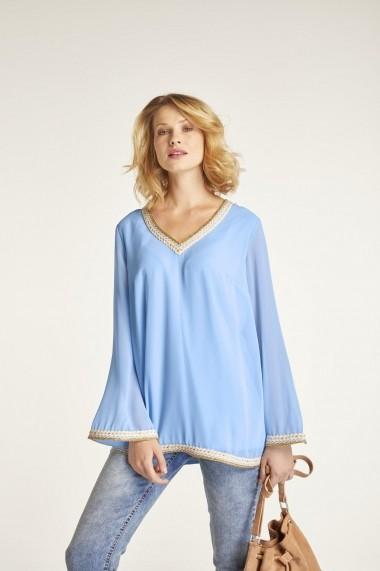 Bluza heine CASUAL 94051210 Bleu