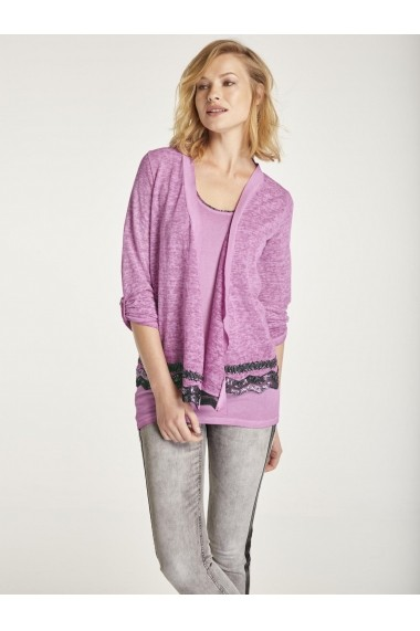 Set cardigan si top heine CASUAL 11961314 Roz