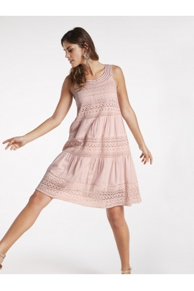 Rochie heine CASUAL 49500836 roz