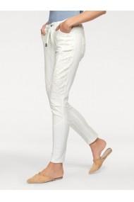 Pantaloni drepti heine CASUAL 040334 Alb