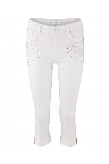 Pantalonii heine CASUAL 35108435 Alb