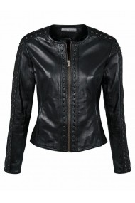 Jacheta din piele heine TIMELESS 093736 Neagra