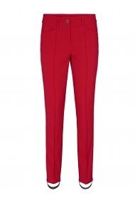 Pantaloni drepti heine TIMELESS 20608735 rosu - els