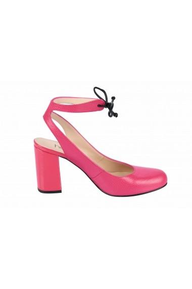 Pantofi cu toc cu toc Heine 75910237 roz