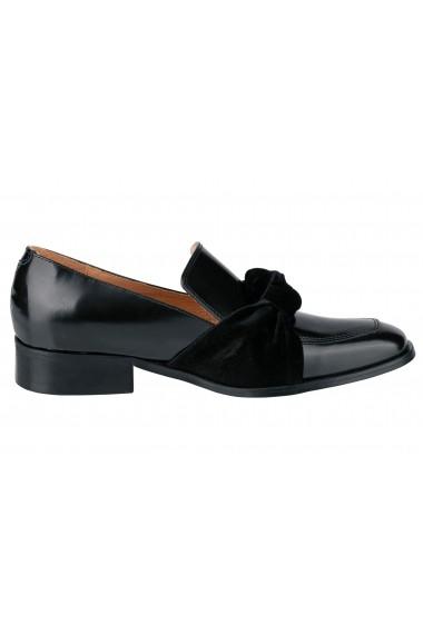 Mocasini Heine 64951404 negru