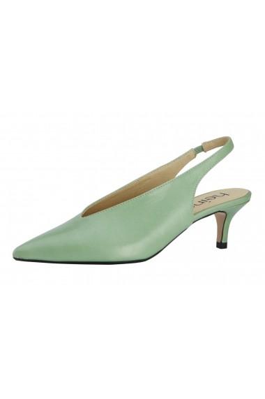 Pantofi cu toc Heine 13771428 Verde