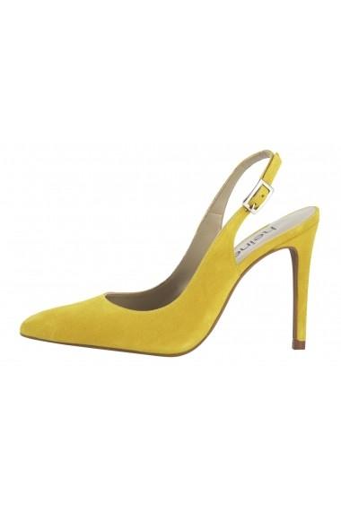 Pantofi cu toc Heine 17087510 Galben - els