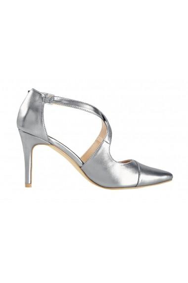 Pantofi cu toc Heine 27587623 Argintiu