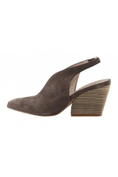 Pantofi cu toc Heine 65380356 Gri-Bej