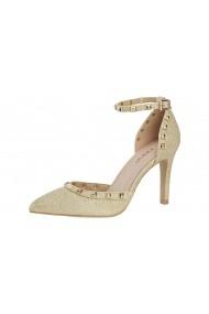 Pantofi cu toc Heine 69436429 Auriu - els