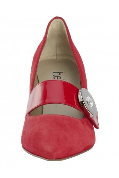 Pantofi cu toc Heine 83314112 Rosu - els