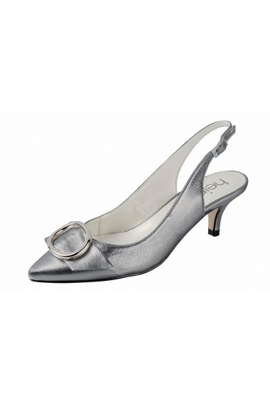 Pantofi cu toc cu toc Heine 94747952 argintiu