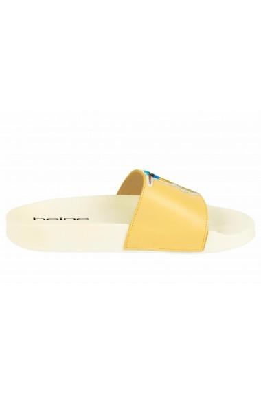 Papuci Heine 26869653 galben