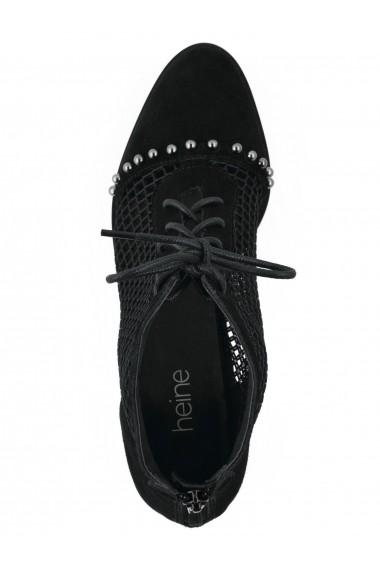 Botine Heine 43559802 negru